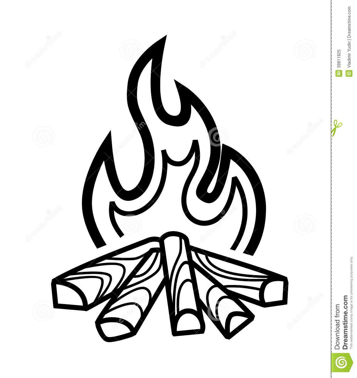 1227x1300 Bonfire Clipart Black And White