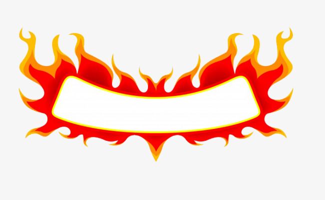 650x400 Flame Border, Red, Fire, Square Png Image For Free Download