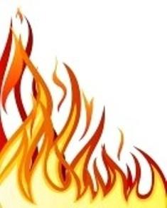 235x292 Line Clipart Fire