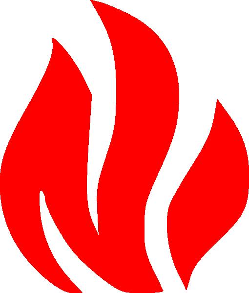 510x599 Fire Flames Symbol Clip Art