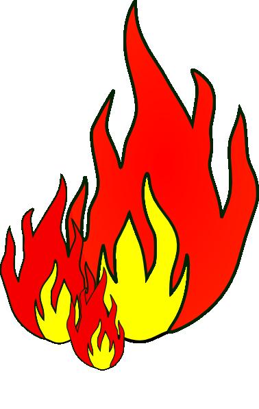 378x597 Fire Clip Art Free Vector 4vector