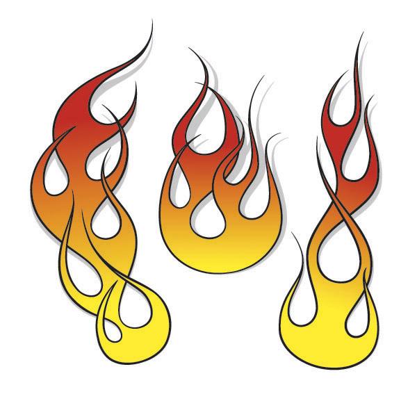 600x600 Flames Flame Clip Art Vector Graphics Image 4 4