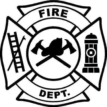 Fire Dept Logo Clipart