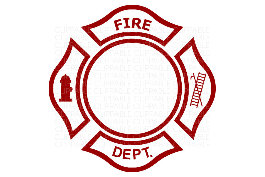 903x602 Fire Department Emblem Clip Art Digital Graphics Instant