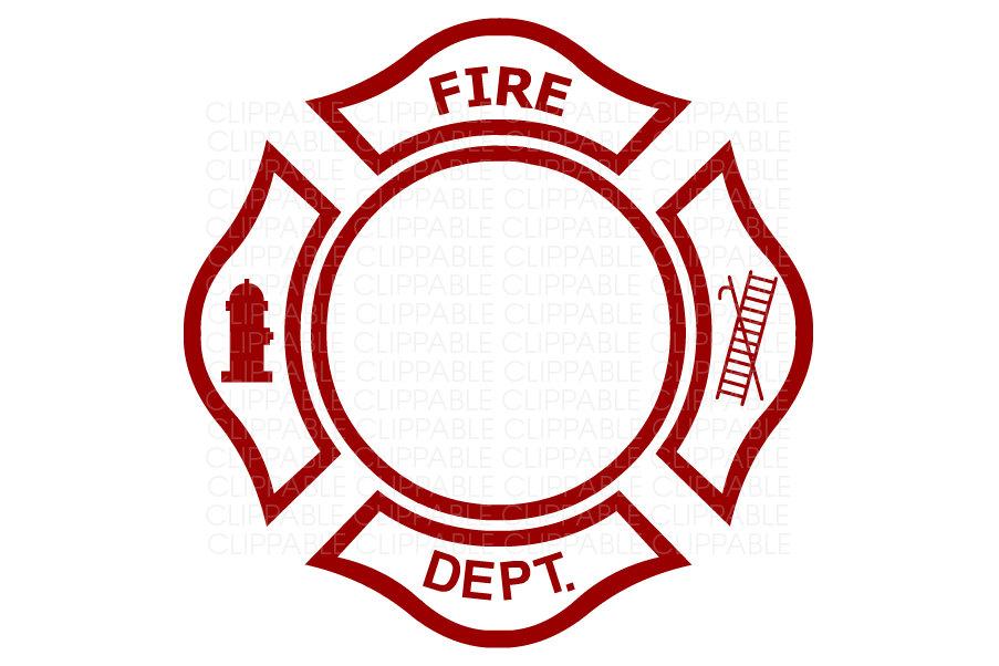 903x602 Fire Department Emblem Clip Art Digital Graphics Instant