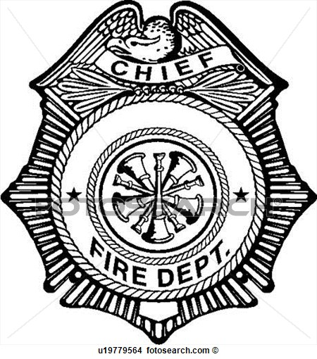450x510 Fire Department Shield Clipart