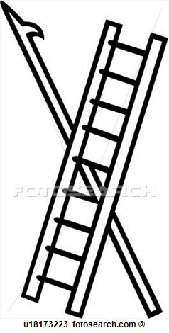 238x470 Fire Ladder Clipart