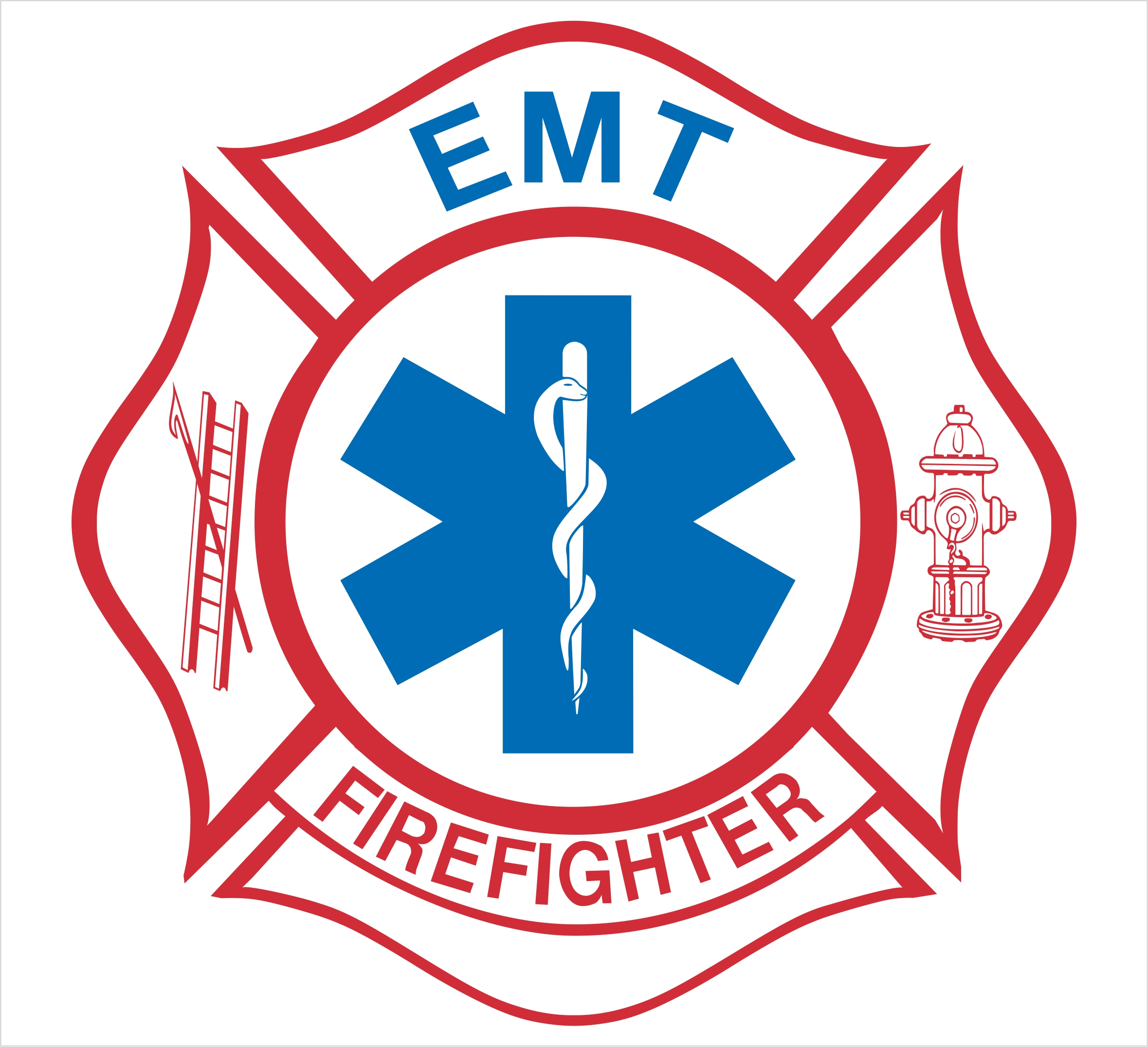 2359x2151 Firefighter Maltese Cross Vector Clipart