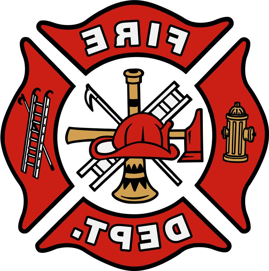 891x900 Top Firefighter Logo Clipart Best Fire Dept Clip Art Drawing