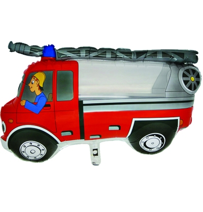400x419 Fire Engine Party Decorations