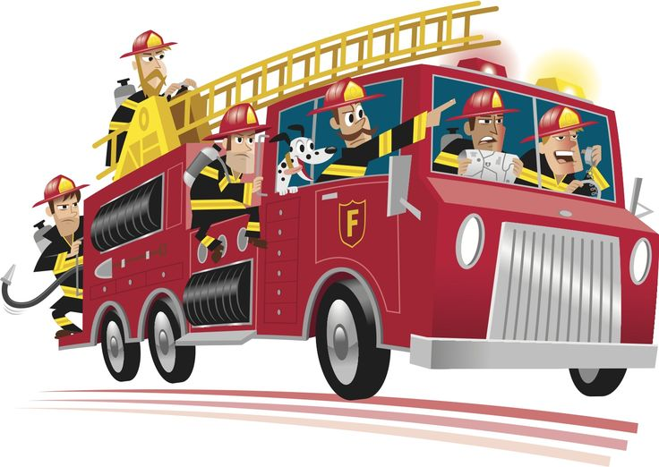 736x522 Fire Truck Clipart Fire Prevention