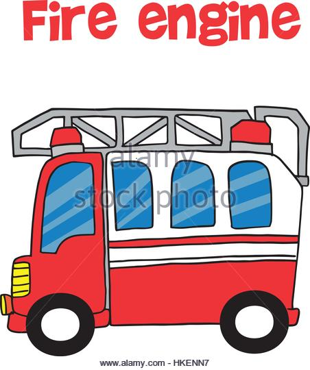 452x540 Vector Cartoon Fire Truck Stock Photos Amp Vector Cartoon Fire Truck