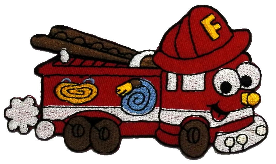 1068x634 Cartoon Fire Engine Pictures