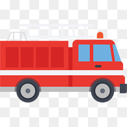 260x260 Cartoon Fire Engine, Fire Engine, Fireman, Rescue Png And Psd File