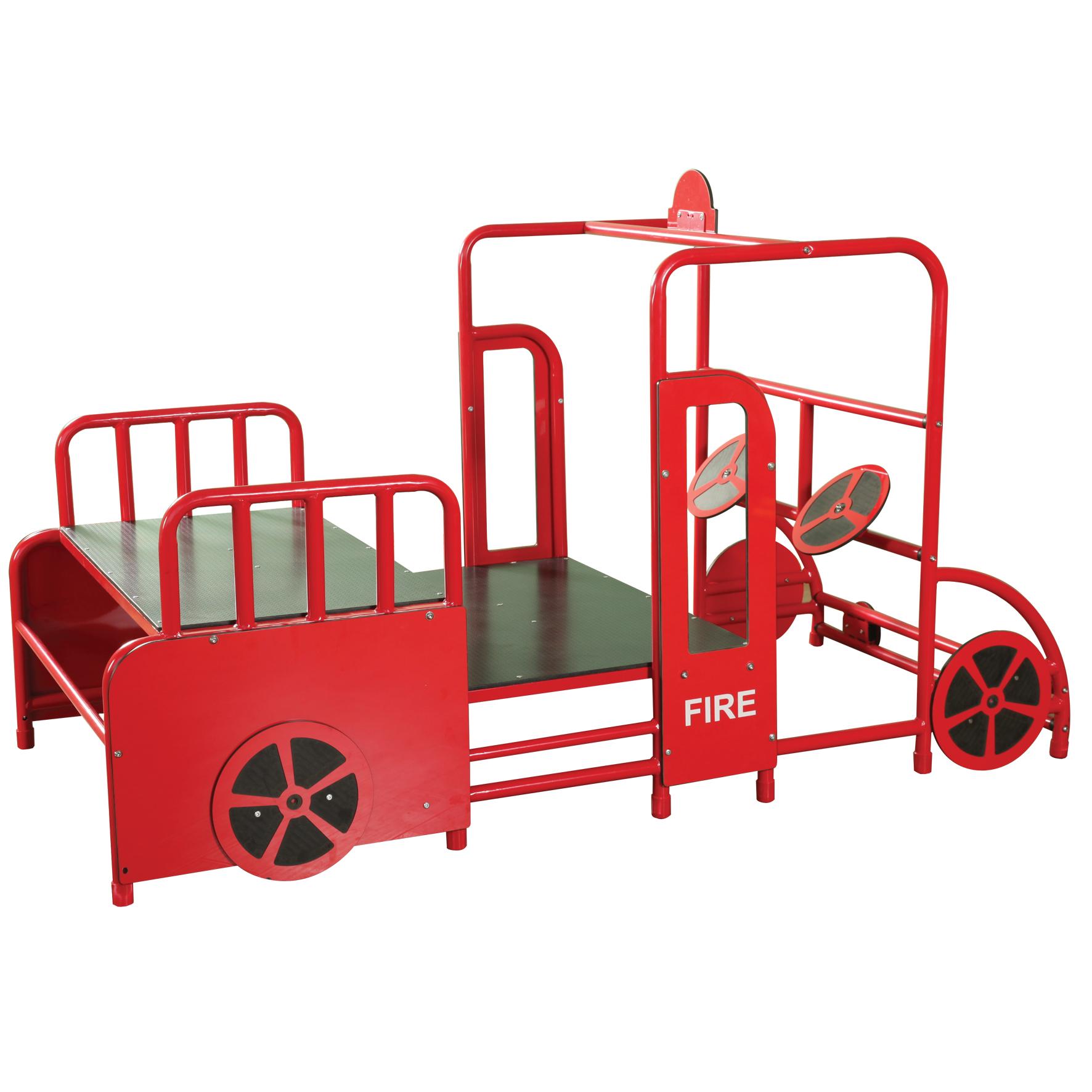 1772x1772 Fire Engine Play Gym Yj001316