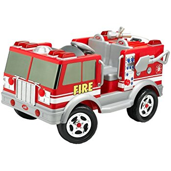 350x350 Kid Trax Red Fire Engine Electric Ride On Toys Amp Games
