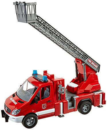 373x450 Bruder Mb Sprinter Fire Engine With Ladder Water Pump