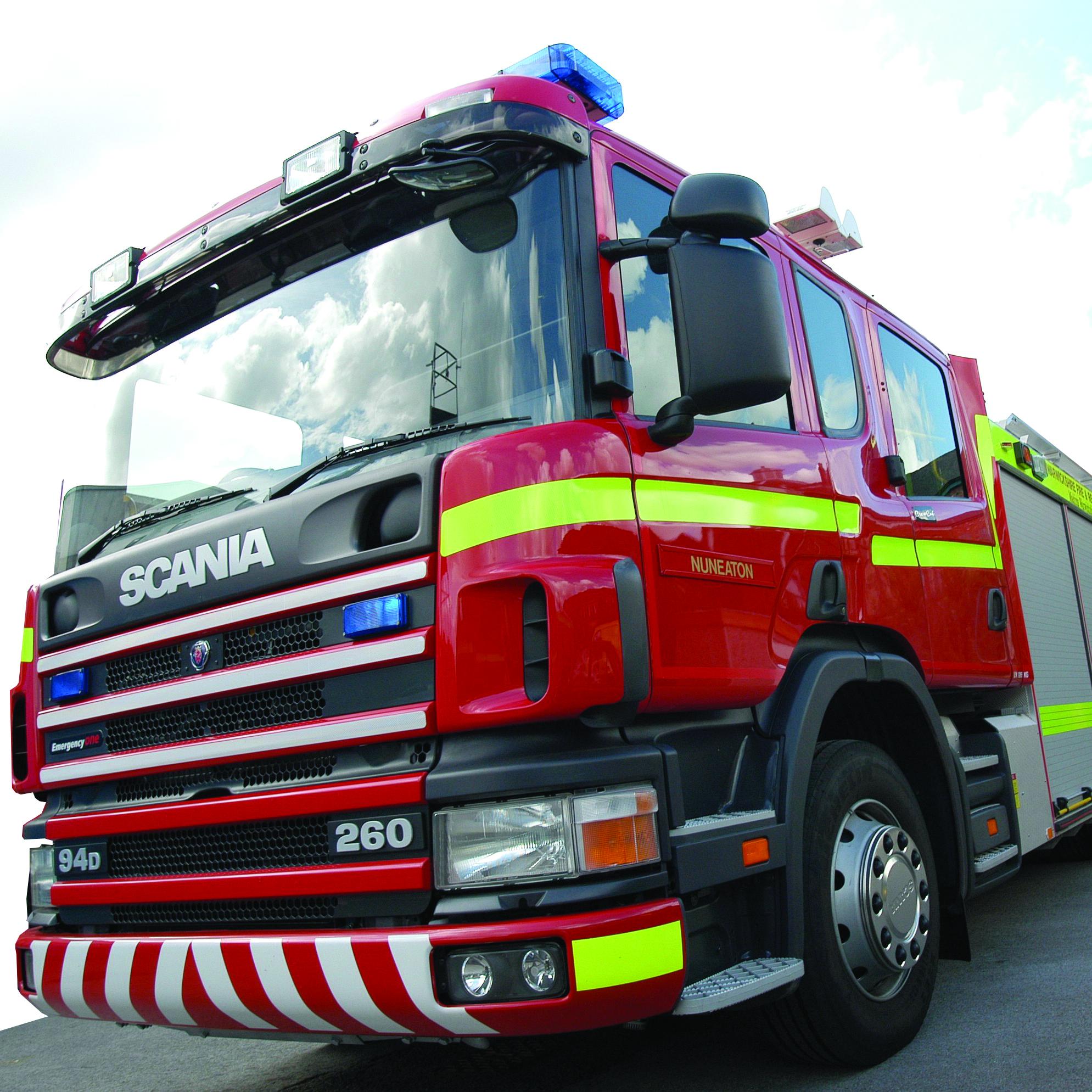 1989x1989 National Fire Strike Ends Warwickshire News