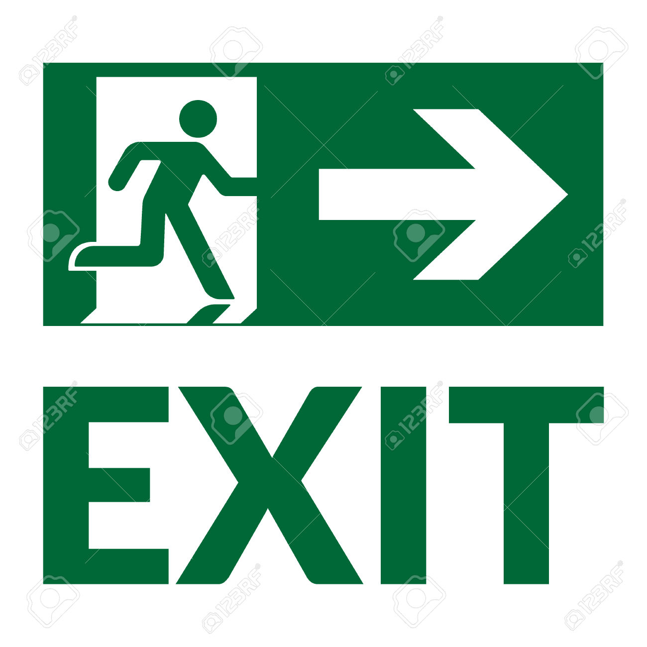 Fire Exit Sign Clipart Free Download Best Fire Exit Sign Clipart