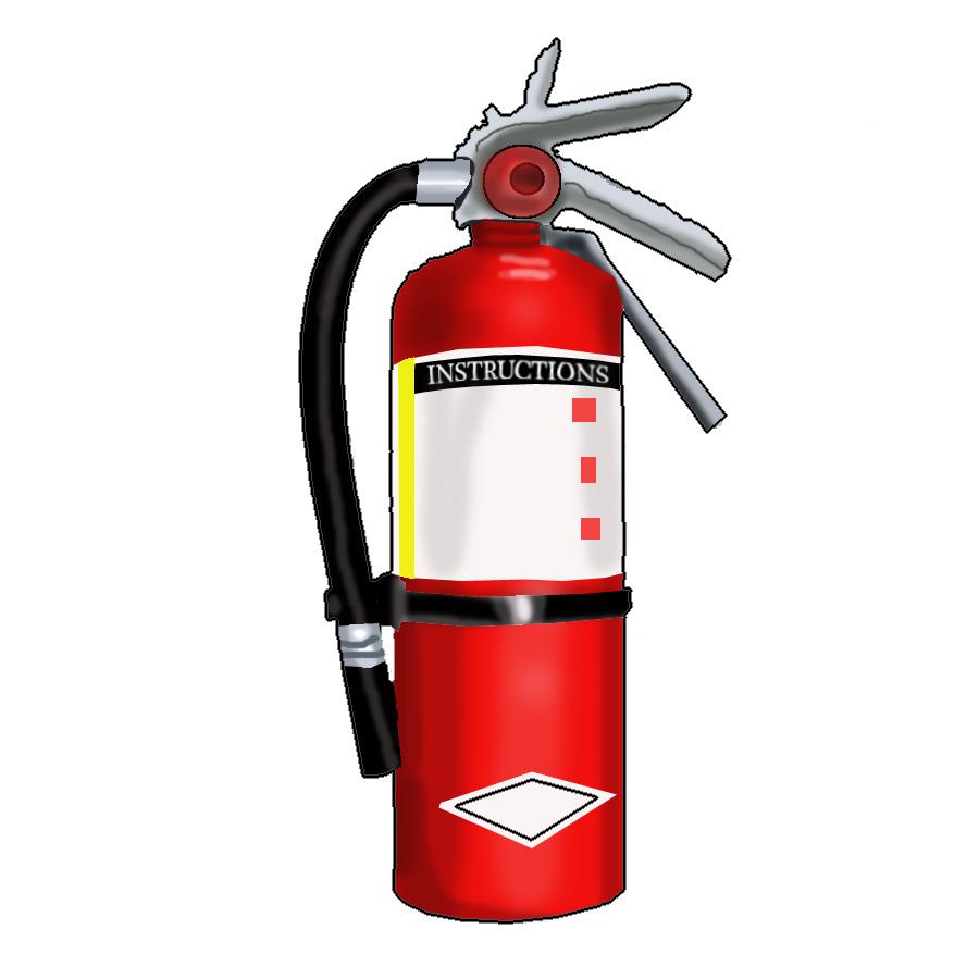 900x900 Extinguisher Training Clipart