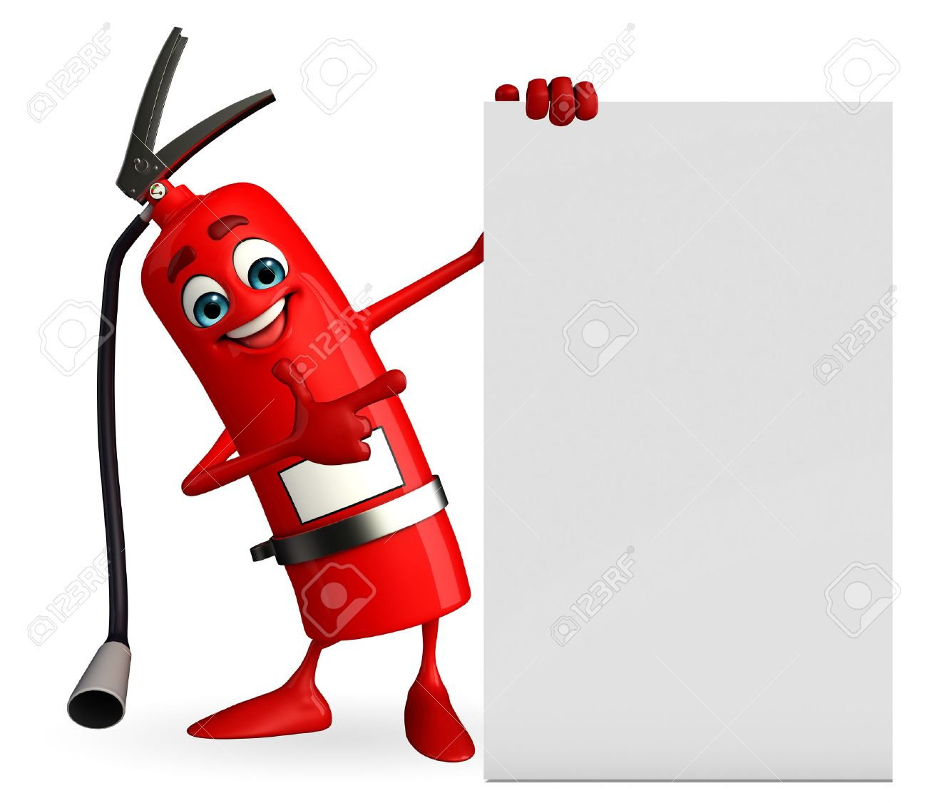 Fire Extinguisher Cartoon