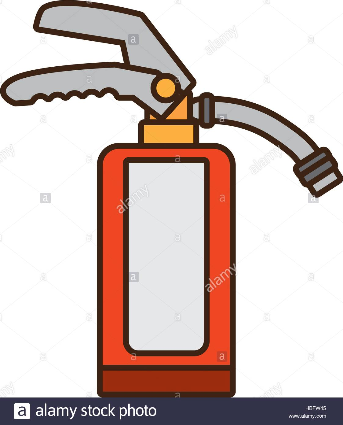 1123x1390 Cartoon Fire Extinguisher Safety Security Industrial Design Vector
