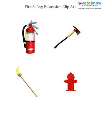 354x425 Fire Safety Education Clip Art Lovetoknow