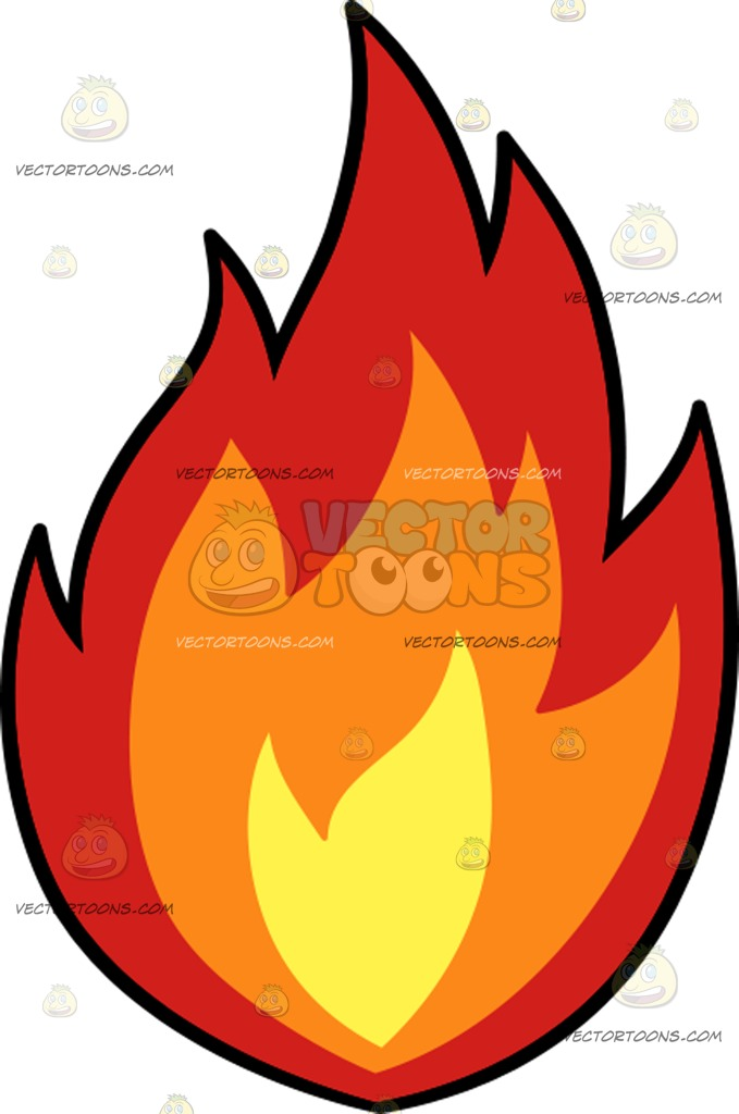 Fire Flame Cartoon