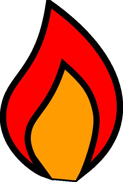 402x595 Full Colour Flame Clip Art