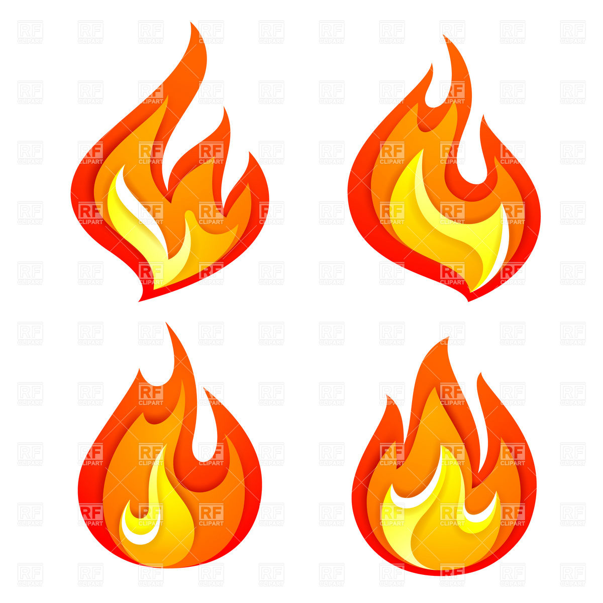 1200x1200 Simple Drawing Of Fire Fire Flame Cartoon Clipart Panda