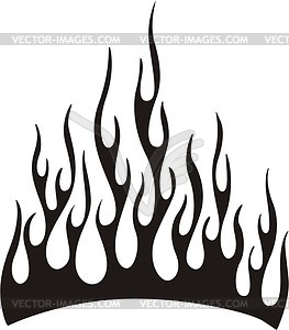 263x300 Tribal Flame Clipart