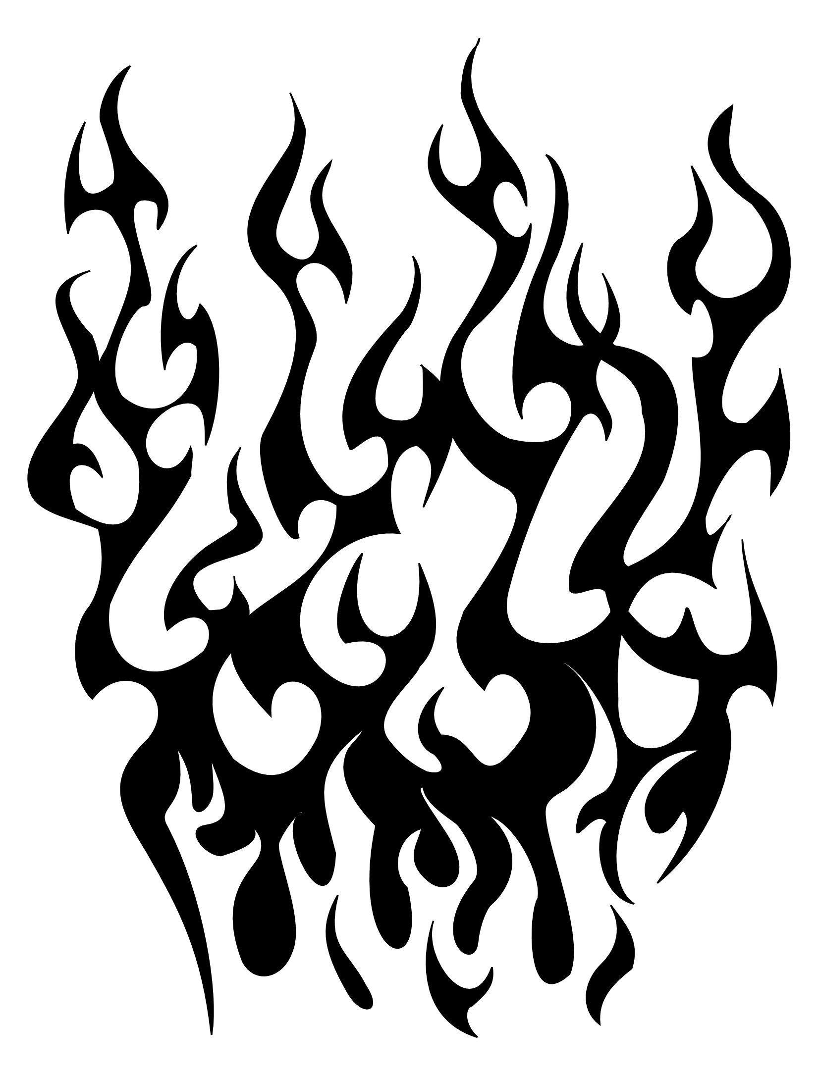 1653x2167 Tribal Flames Sleeve Tattoojpg