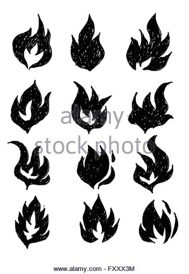 373x540 Blazing Flames Black And White Stock Photos Amp Images