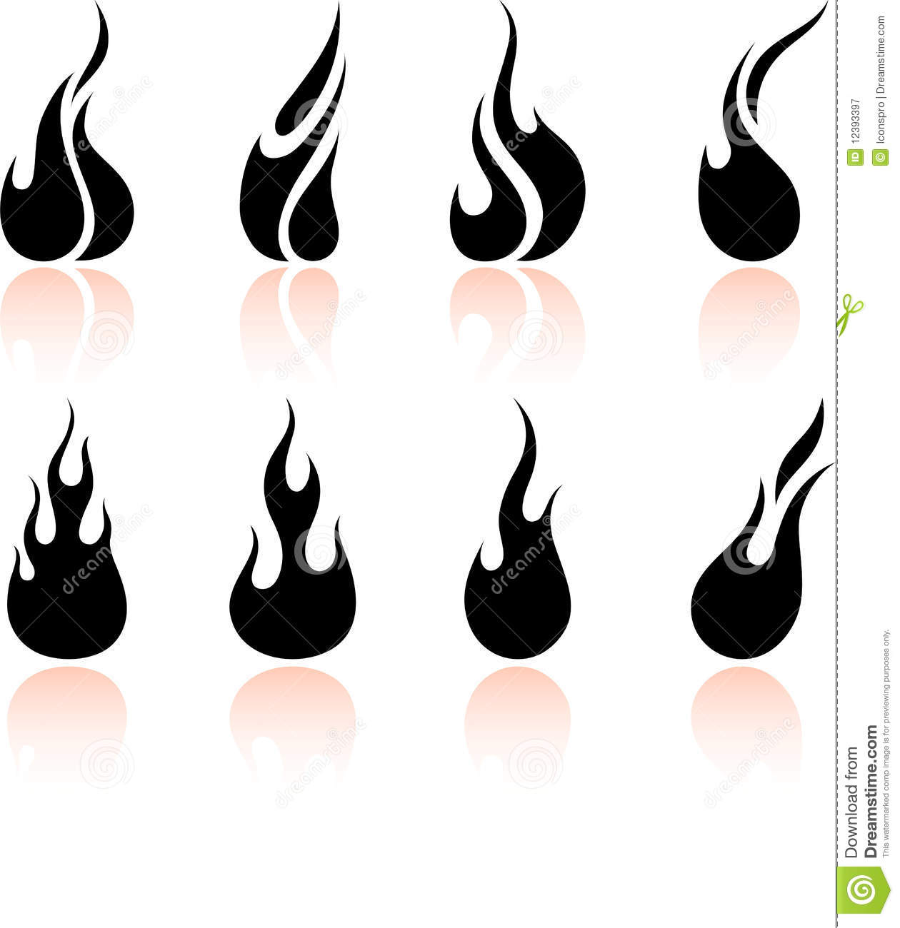 1260x1300 Fire Clipart Black And White
