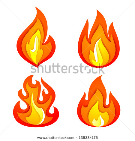 450x470 Flames Clipart Fireplace Flames