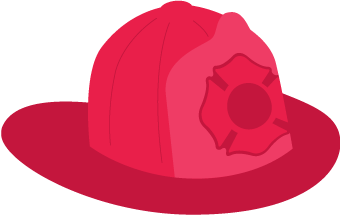 Fire Hat Clipart