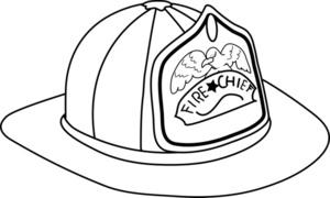 300x180 Fireman Hat Coloring