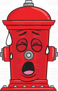 236x366 Irritated And Disgusted Look On Fire Hydrant Emoji Vector
