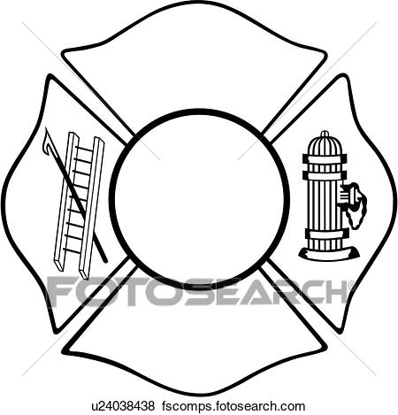 450x469 Clip Art Of , Chief, Cross, Department, Emergency, Emergency