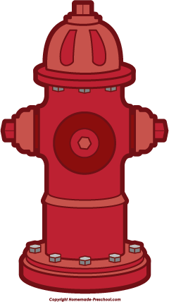 240x428 Fire Safety Clipart