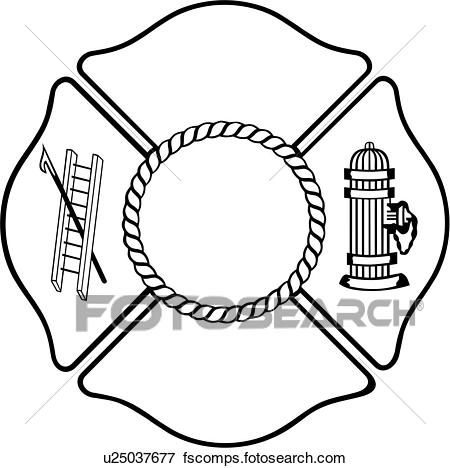 450x468 Clip Art Of , Chief, Cross, Department, Emergency, Emergency