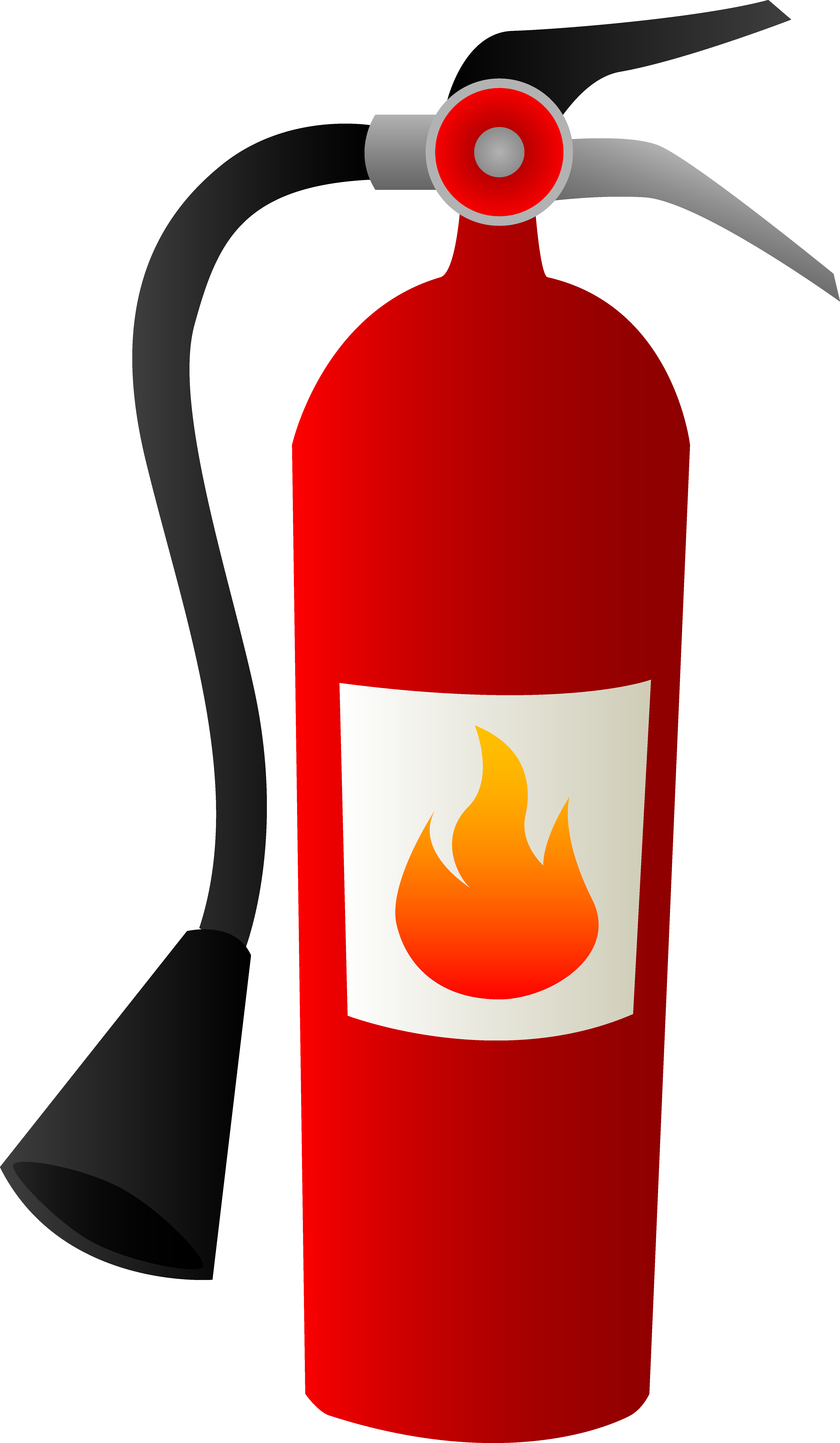 4756x8170 Clipart Fire Extinguisher