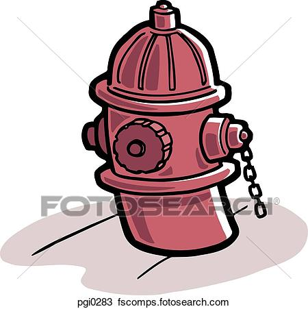 450x451 Drawing Of A Picture Of A Red Fire Hydrant Pgi0283