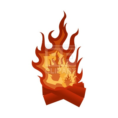 400x400 Fire Free Vector Clip Art Image