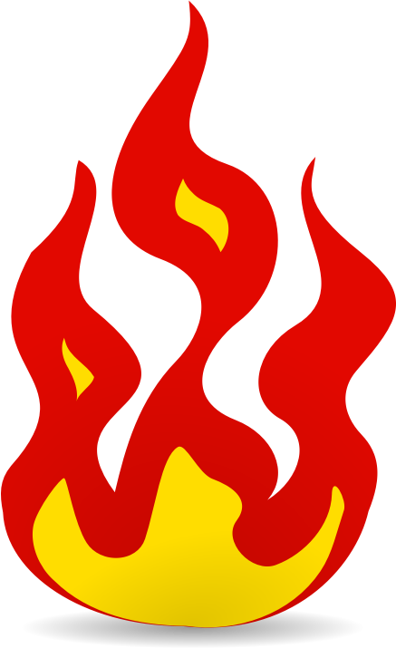 437x715 Fire Clipart Free