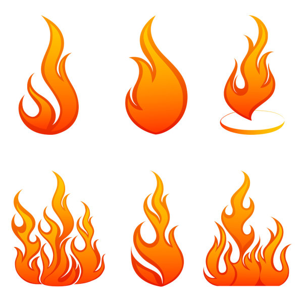 600x600 Free Clipart Of Flames