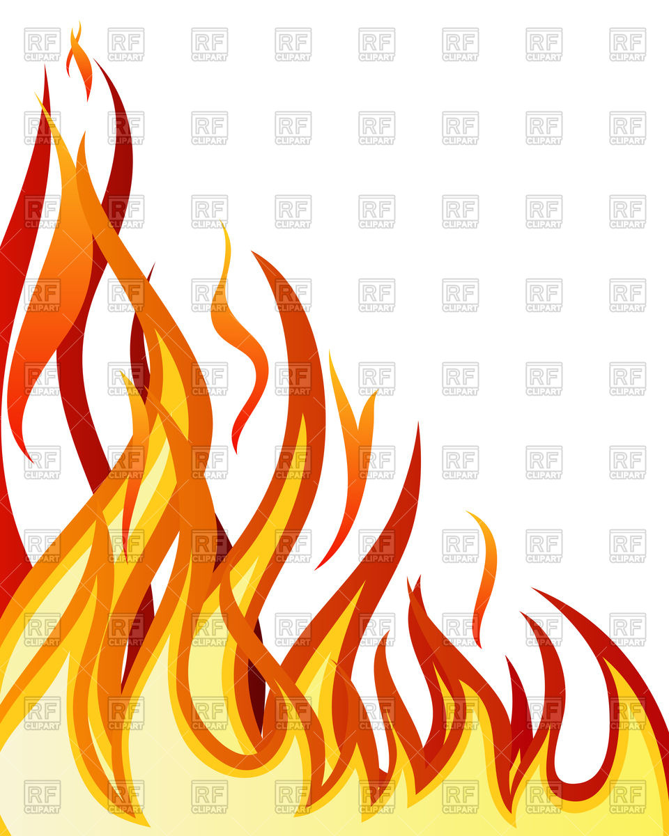 960x1200 Inferno Fire Royalty Free Vector Clip Art Image
