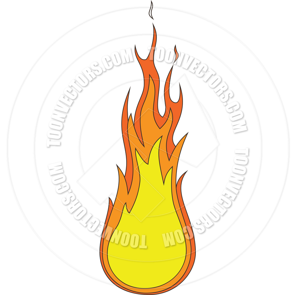 940x940 Cartoon Fire Flames Drawing