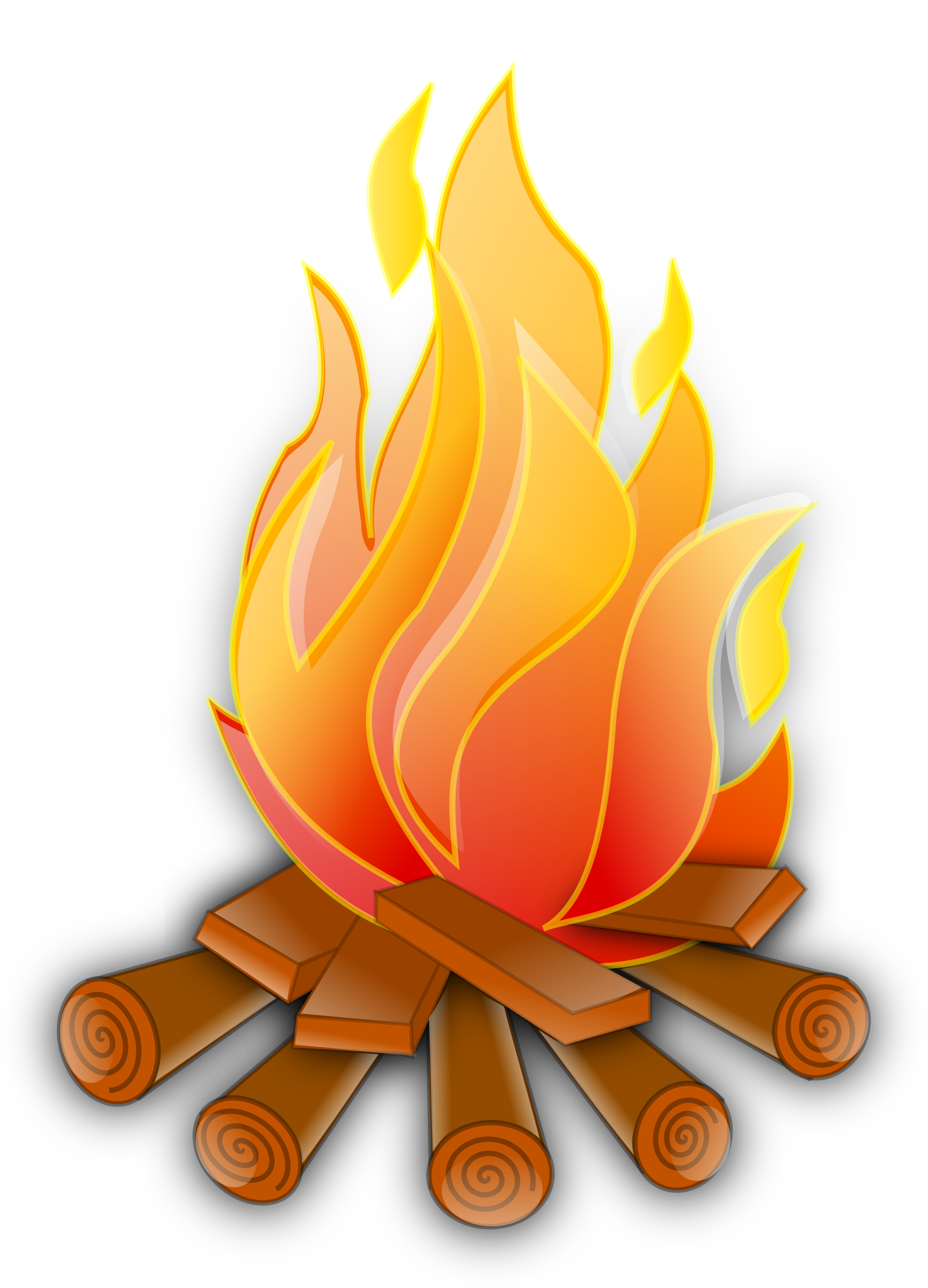 1729x2400 Clip Art Of Fire