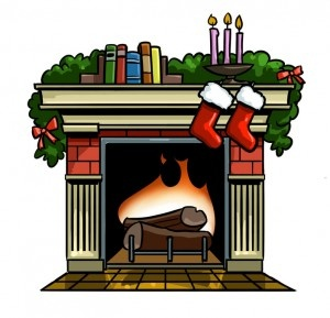 Fire Place Clipart